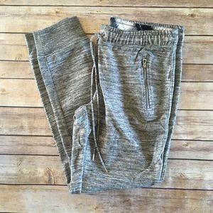Grey marled joggers sweatpants