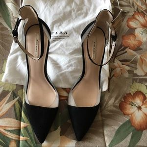 Zara Basic Pointed Toe Heels