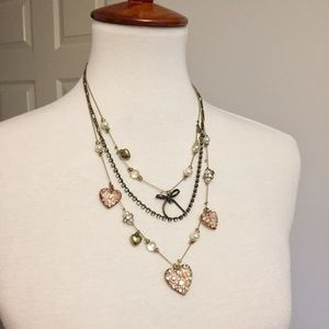 Betsey Johnson • Multi Chain Necklace