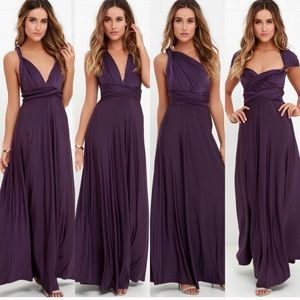Lulus Convertible Maxi Dress