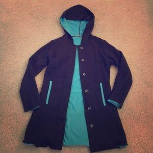 Sweaters - Sweater Jacket with Fleece Interior