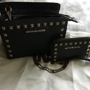 Michael kors black set