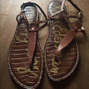 Sam Edelman Brown Sandals size 9.5