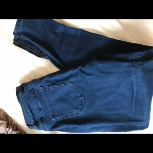 Blue high waisted Tobi jeans