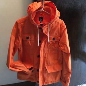 Orange Gap fall jacket