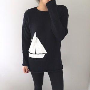 Chaus | Sailboat Long Sweater