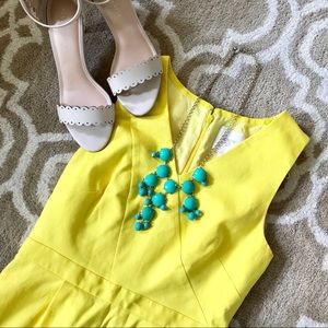 UPDATE On Yellow J. Crew Suiting Dress