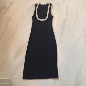 Blue dress made In France