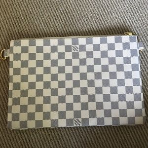 Louis Vuitton Damier Azur Clutch *brand new*