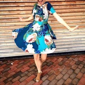 NEW Anthropologie Corey Lynn Paeonia Floral Dress