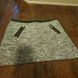 Express grey Tweed skirt size 4