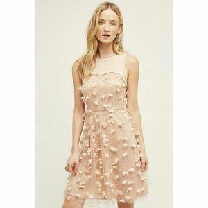 NEW Anthropologie Flutter Fleur dress 8 Eva Franco