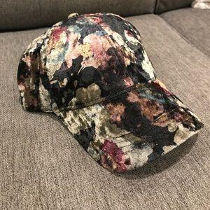 ⭐️Brand New!⭐️ Velvet Floral Hat