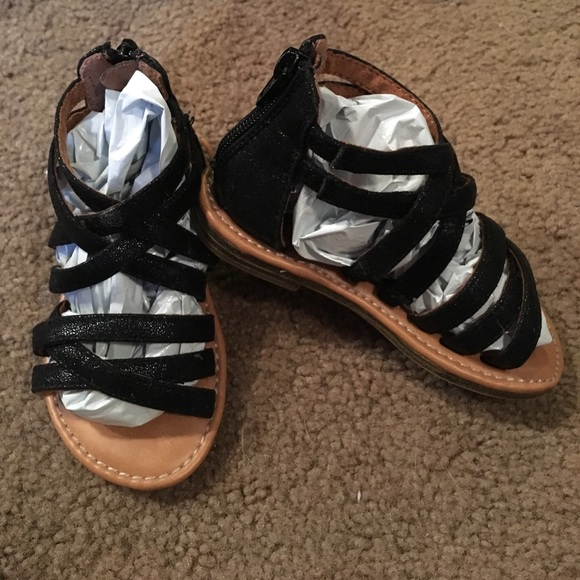 327b26427aab3f Cherokee Other - Cherokee size 7 toddler girl black sandals