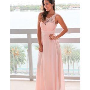 Blush dress size medium