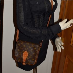 Authentic Louis Vuitton Cartouchiere PM Crossbody
