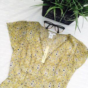 Cute floral print circle dress (NWT)