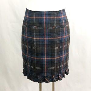 🆕 Listing!  CAbi Plaid Heritage Skirt