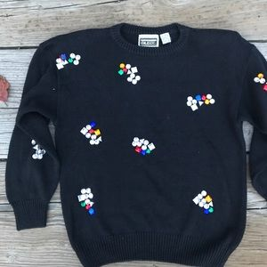 Awesome 80s Bedazzled Sweater