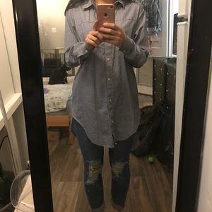 ZaraBasic oversized shirt (xs)