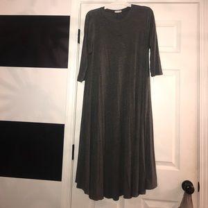 Dark grey boutique dress