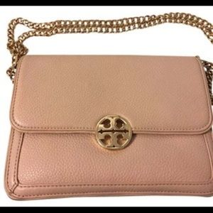 Tory Burch Light Oak Convertible Shoulder Bag