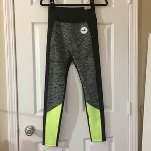 Hollister High Rise Colorblock Active Leggings
