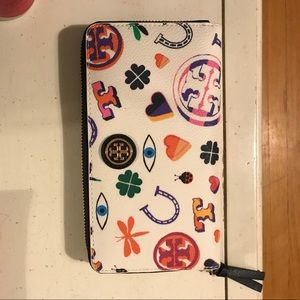 Tory Burch Lucky Symbols Wallet