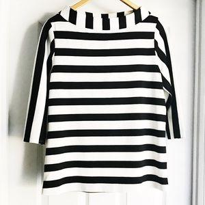 Anthro Postmark Striped Sweater
