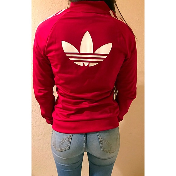 Adidas Jackets Coats Original Track Jacket Girls L Womens Xss