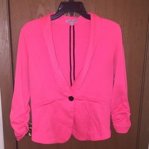 Charlotte Russe hot pink blazer
