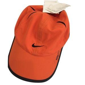 NWT Orange Nike Baseball Cap
