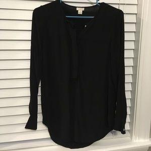 Black J.Crew blouse