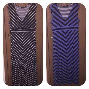 Bundle of 2 Apt. 9 maxi dresses