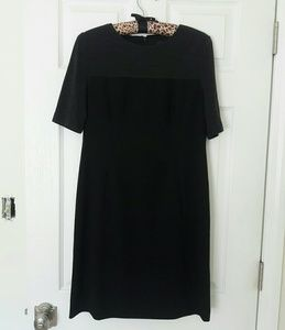 Adrianna Papell Black Career Dress size 6