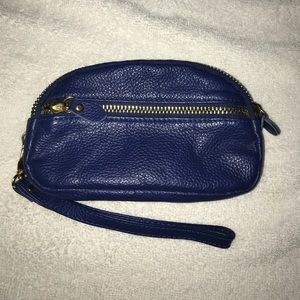 Royal Blue Wallet