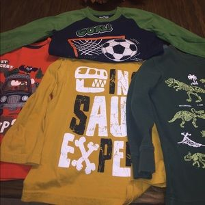Other - Bundle 4 3T long sleeve t-shirts.