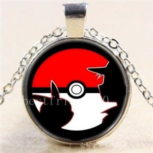 NEW in package Pokemon Ball Necklace