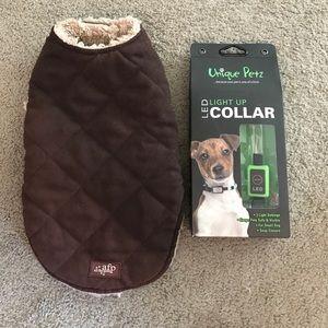 Small dog LED Collar & Jacket
