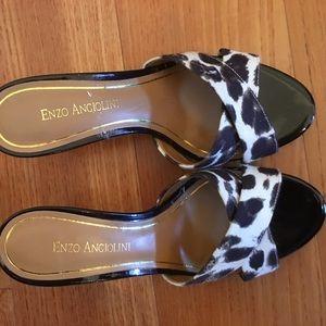 Enzo Angiolini slide sandals