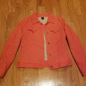 Orange Gap curteroy jacket