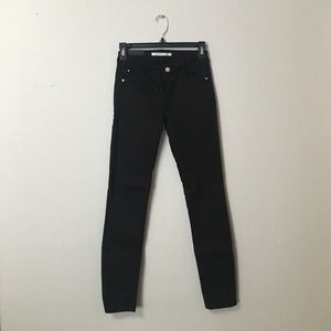 Zara black denim size 24