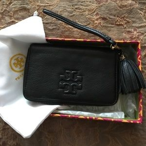 Tory Burch Phone wristlet, new with box