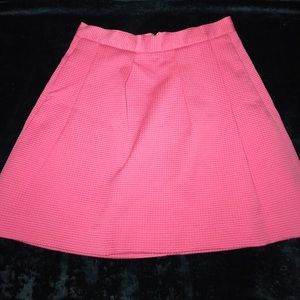 French Connection Pink Skirt Sz 4