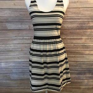 Jcrew striped day dress
