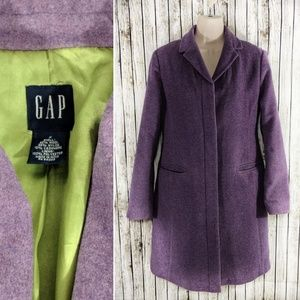 GAP Long Line Peacoat - S