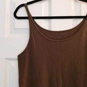 New! Eileen Fisher olive tank