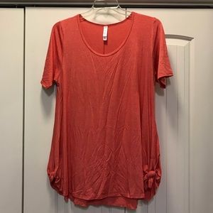 Coral L Lularoe Perfect Tee