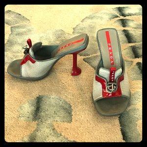 Vintage Authentic Prada Sandals