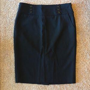 Bebe black pencil skirt size 8